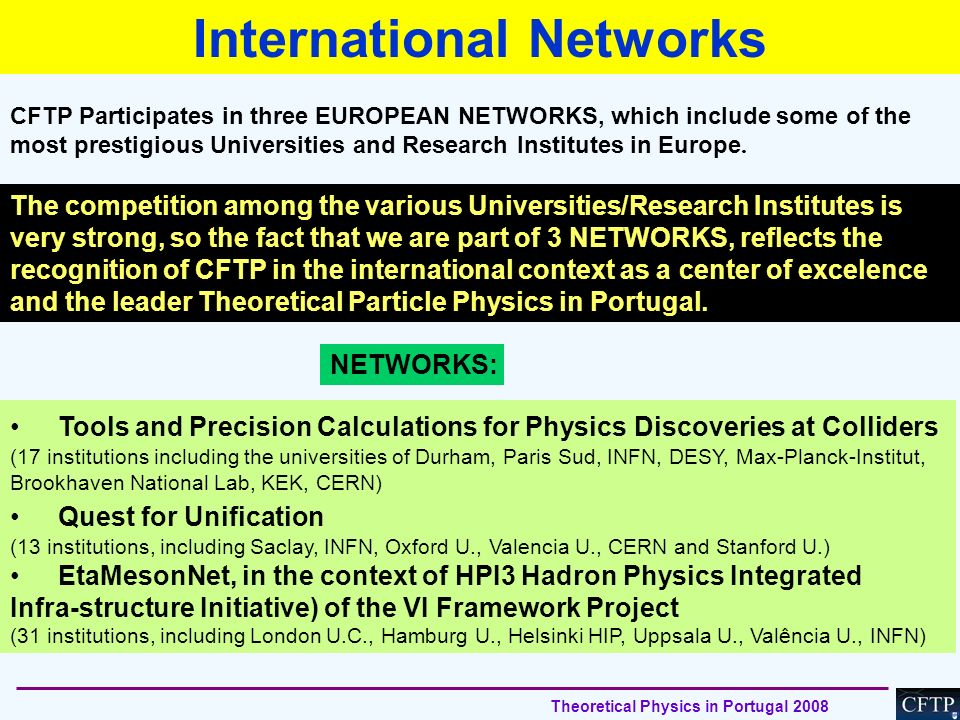 International Networks