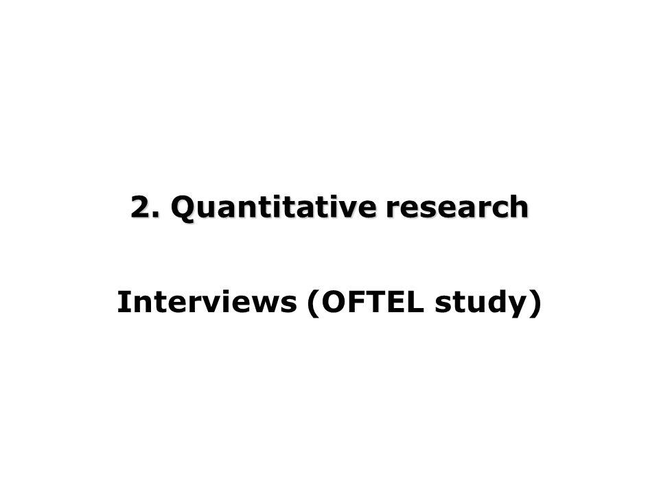 2. Quantitative research