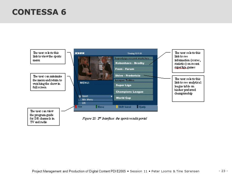 CONTESSA 6