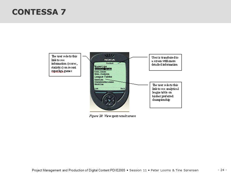 CONTESSA 7