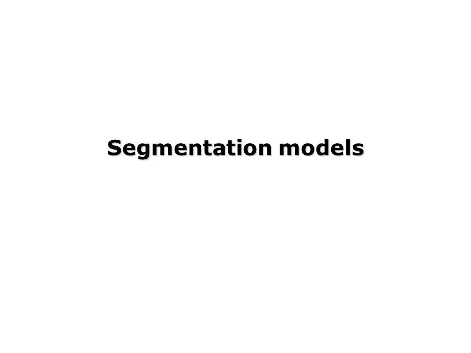 Segmentation models