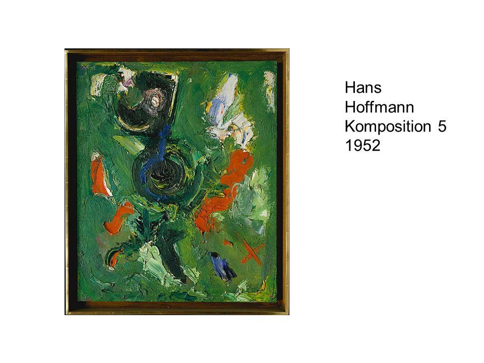 Hans Hoffmann Komposition 5 1952