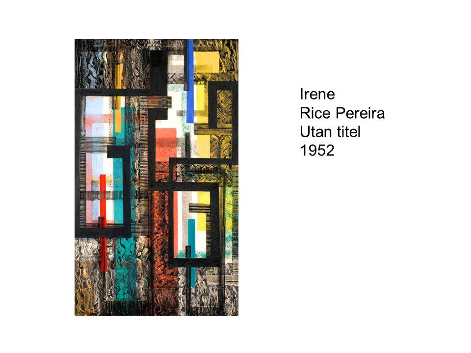 Irene Rice Pereira Utan titel 1952