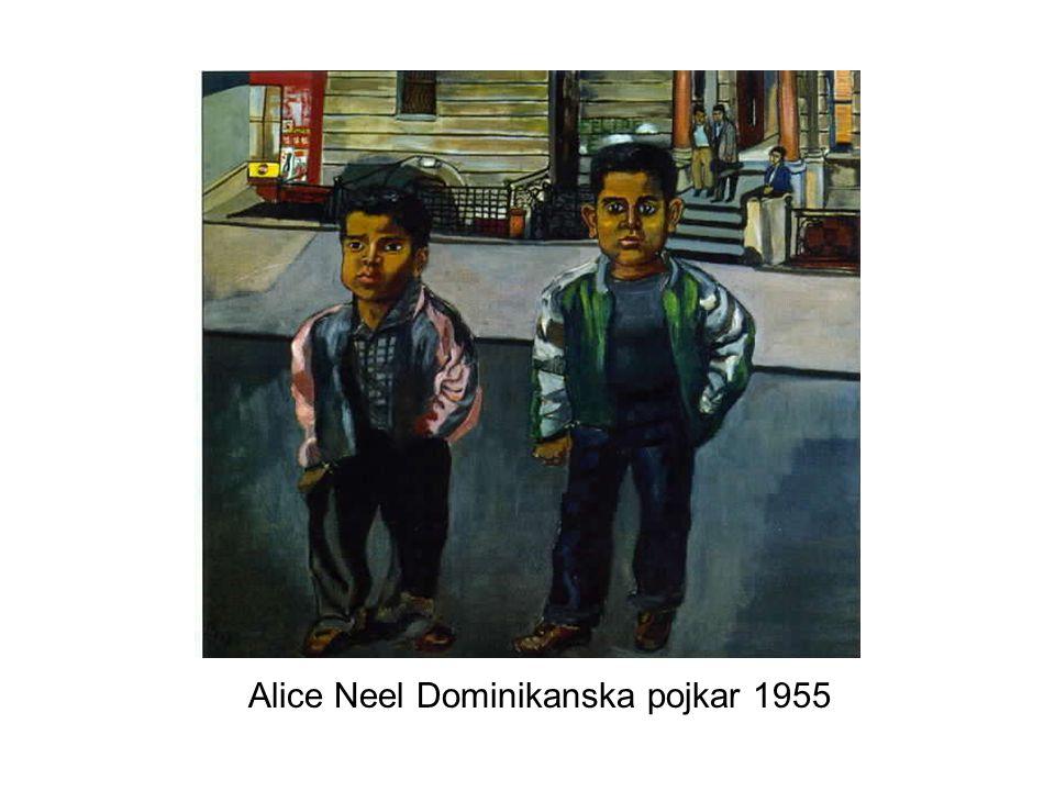 Alice Neel Dominikanska pojkar 1955