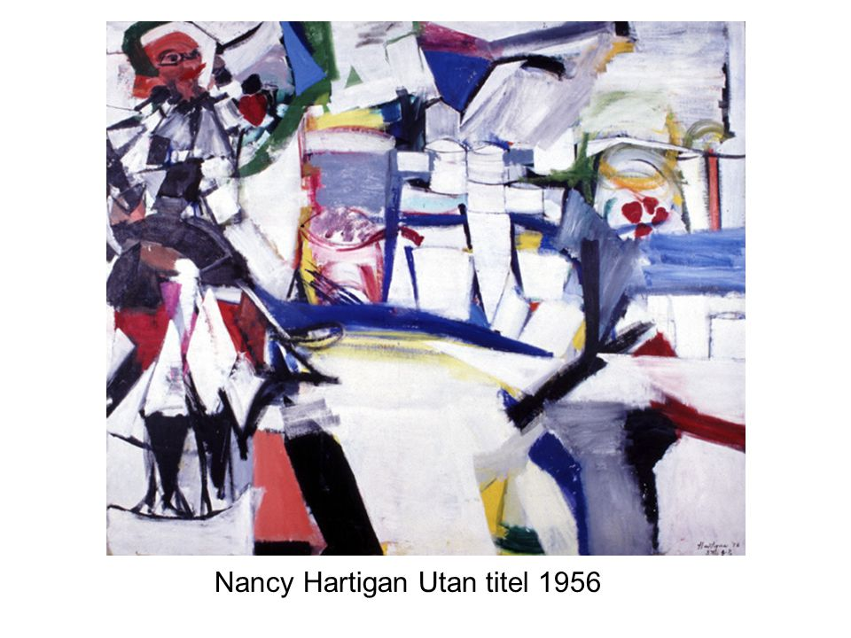 Nancy Hartigan Utan titel 1956