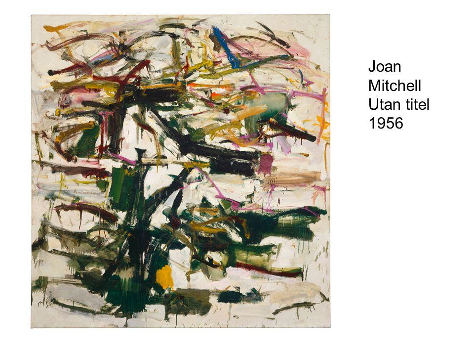 Joan Mitchell Utan titel 1956