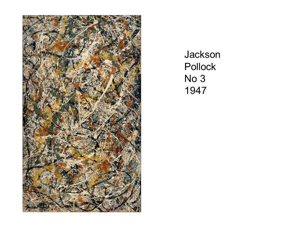 Jackson Pollock No 3 1947