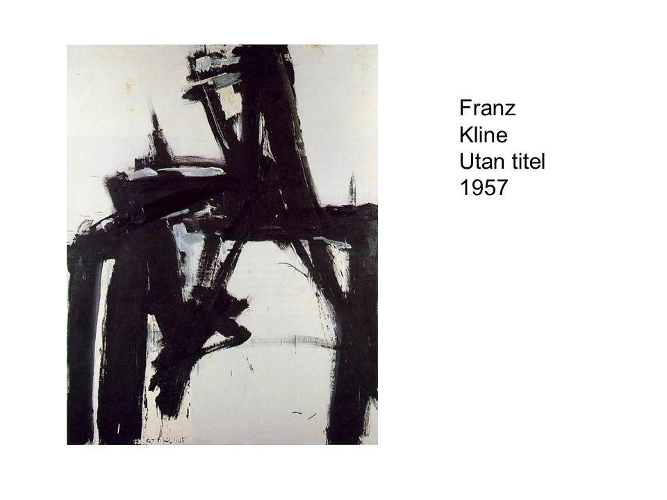 Franz Kline Utan titel 1957