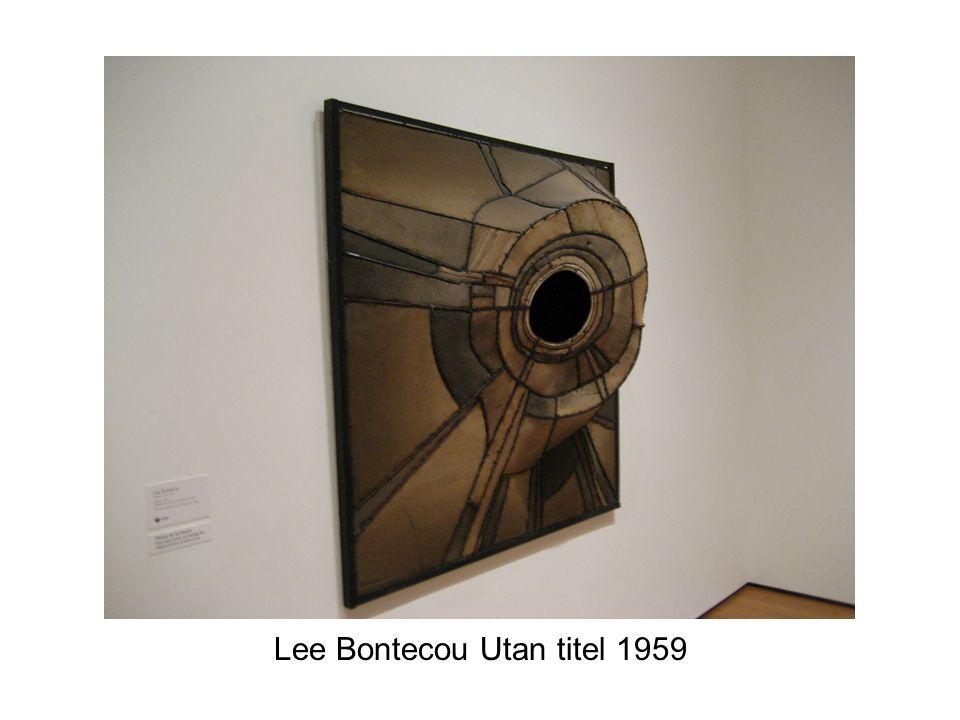 Lee Bontecou Utan titel 1959