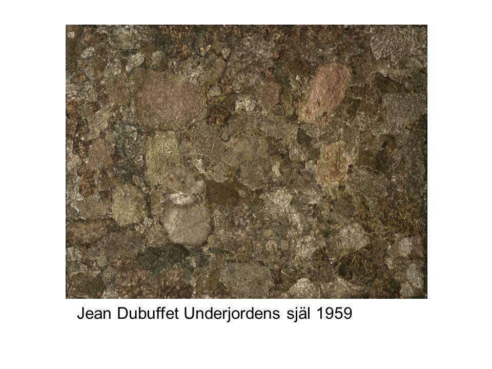 Jean Dubuffet Underjordens själ 1959