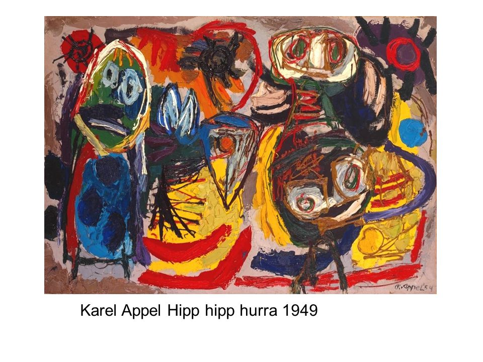 Karel Appel Hipp hipp hurra 1949