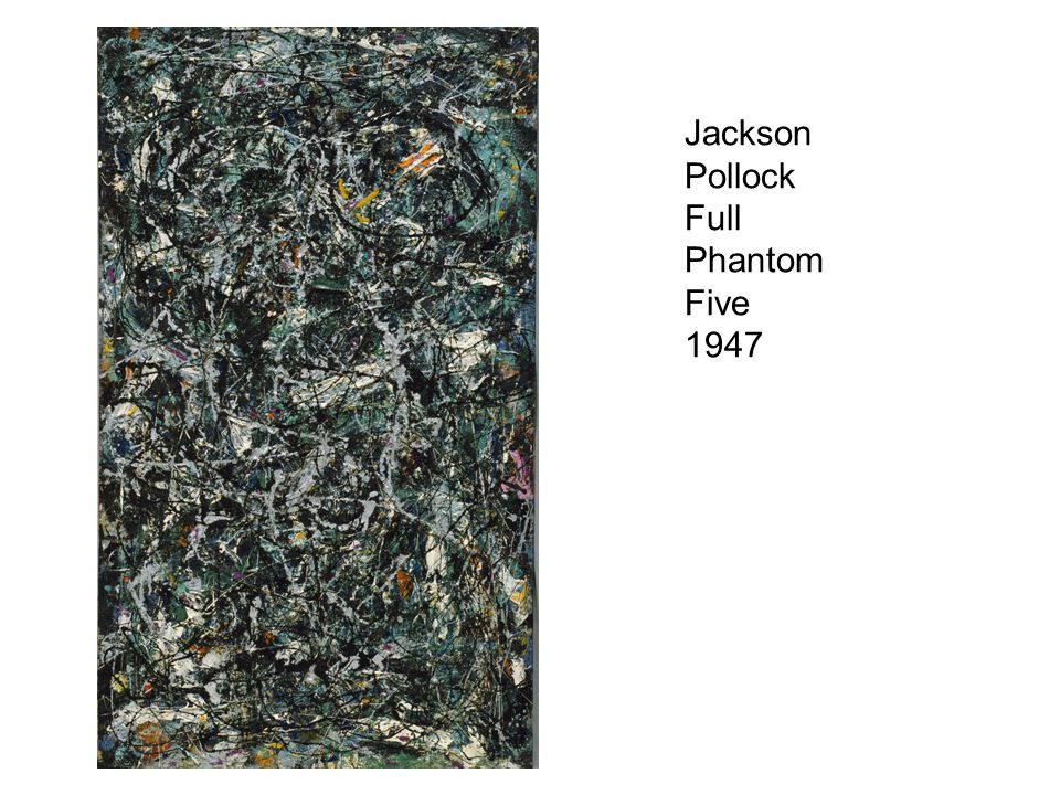 Jackson Pollock Full Phantom Five 1947