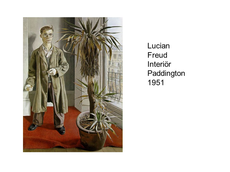 Lucian Freud Interiör Paddington 1951