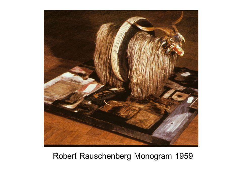Robert Rauschenberg Monogram 1959