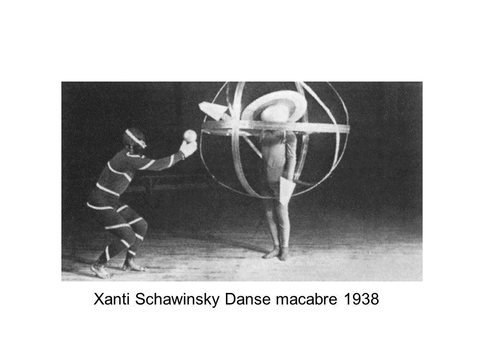 Xanti Schawinsky Danse macabre 1938
