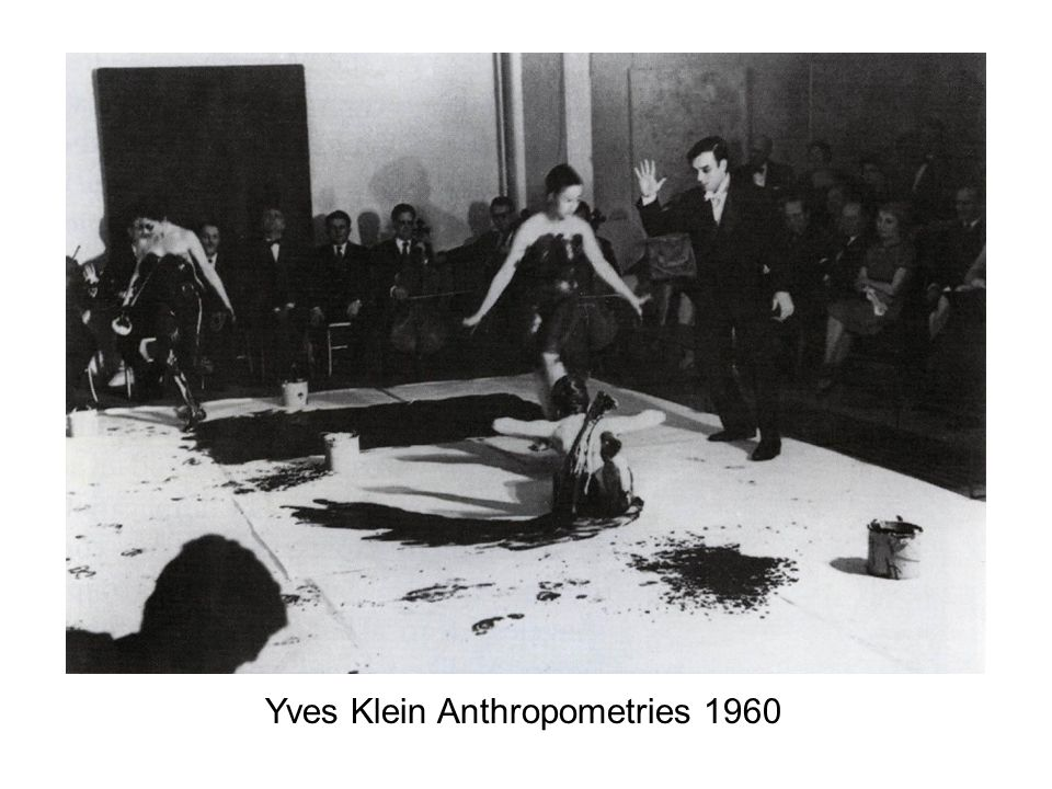 Yves Klein Anthropometries 1960