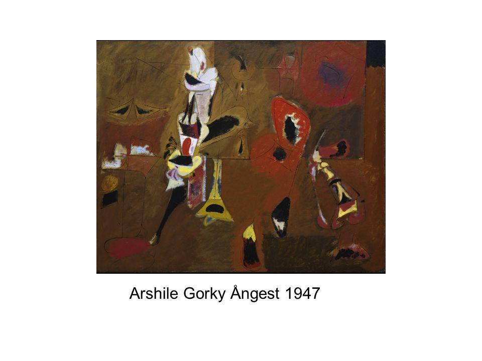 Arshile Gorky Ångest 1947