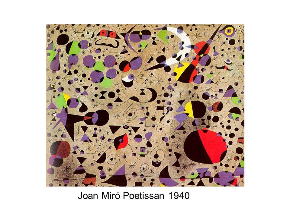 Joan Miró Poetissan 1940