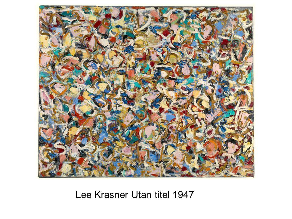 Lee Krasner Utan titel 1947