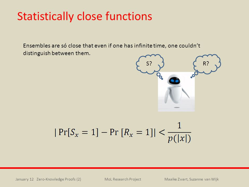 Statistically close functions