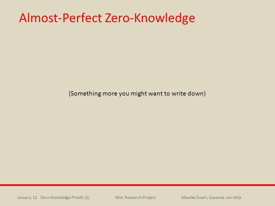 Almost-Perfect Zero-Knowledge