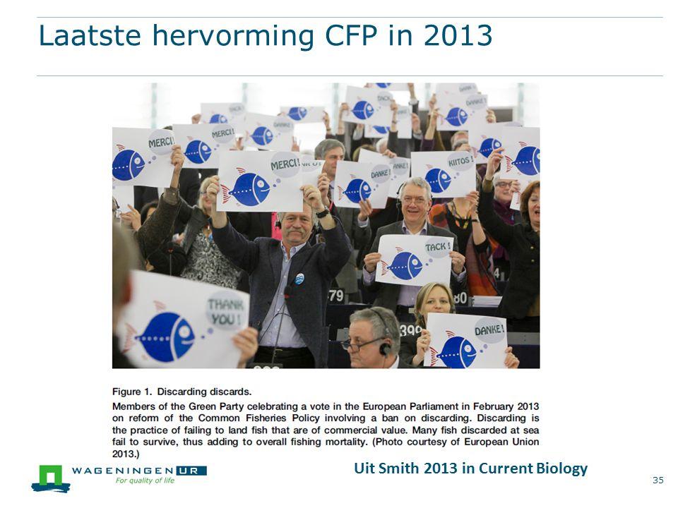 Laatste hervorming CFP in 2013