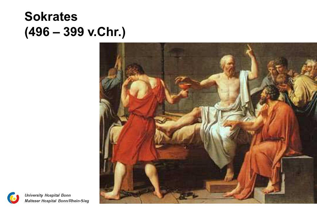 Sokrates (496 – 399 v.Chr.)