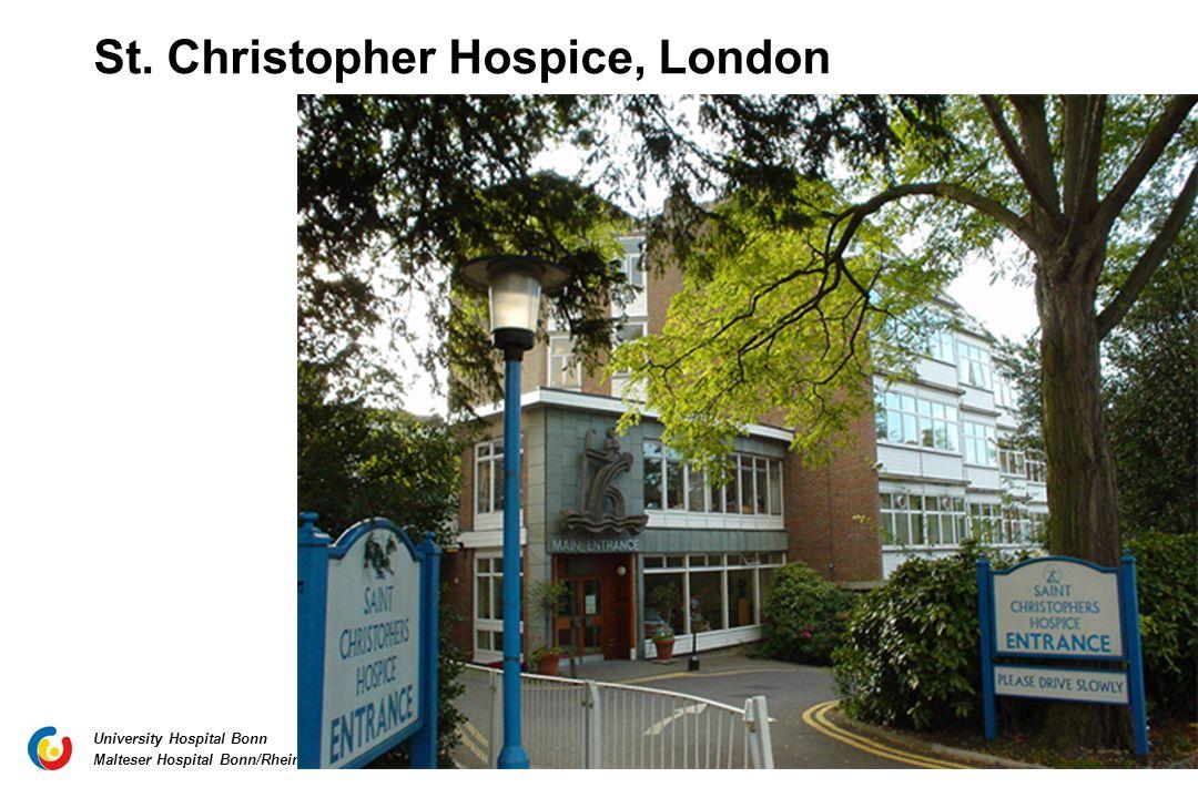 St. Christopher Hospice, London