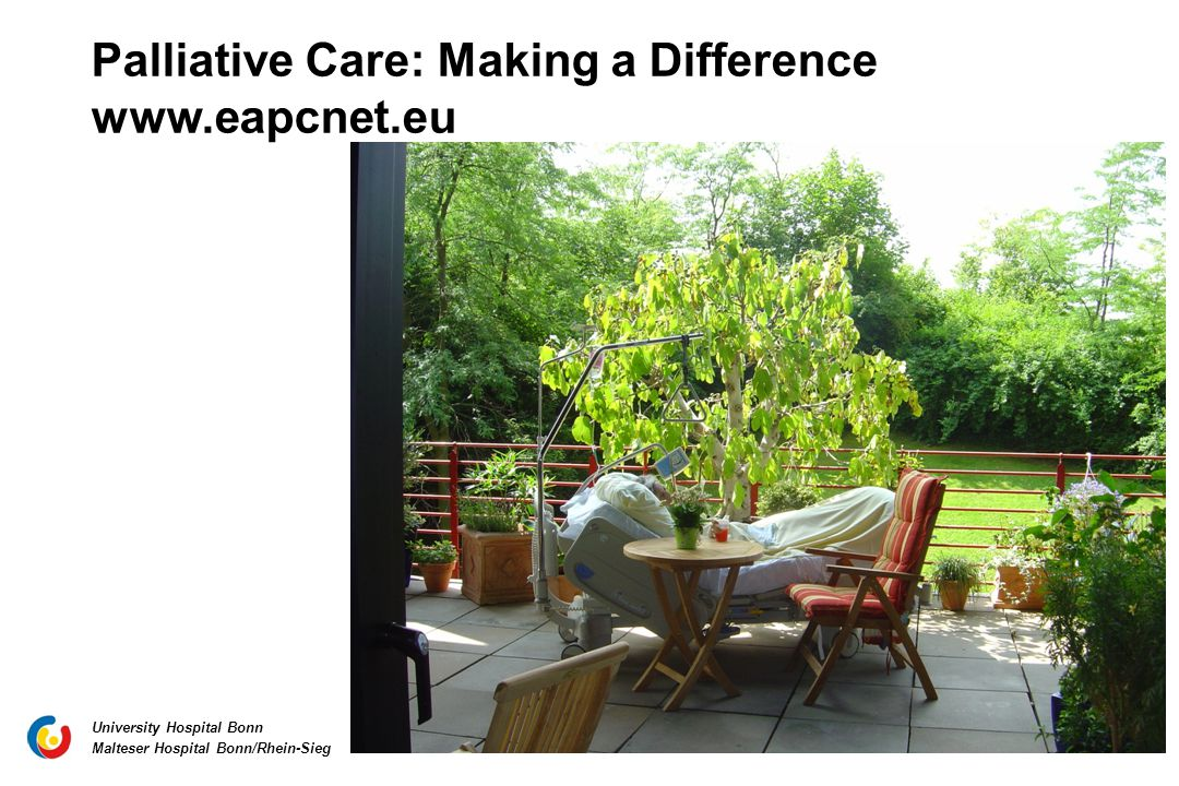 Palliative Care: Making a Difference www.eapcnet.eu