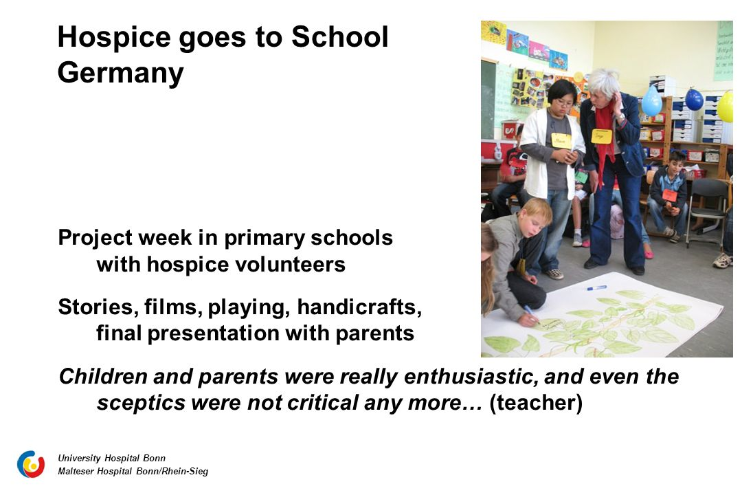 Hospice goes to School Germany