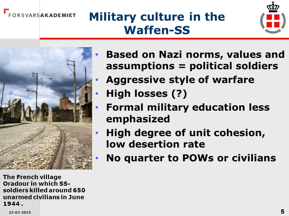 Military culture in the Waffen-SS