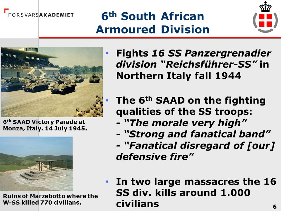 6th South African Armoured Division