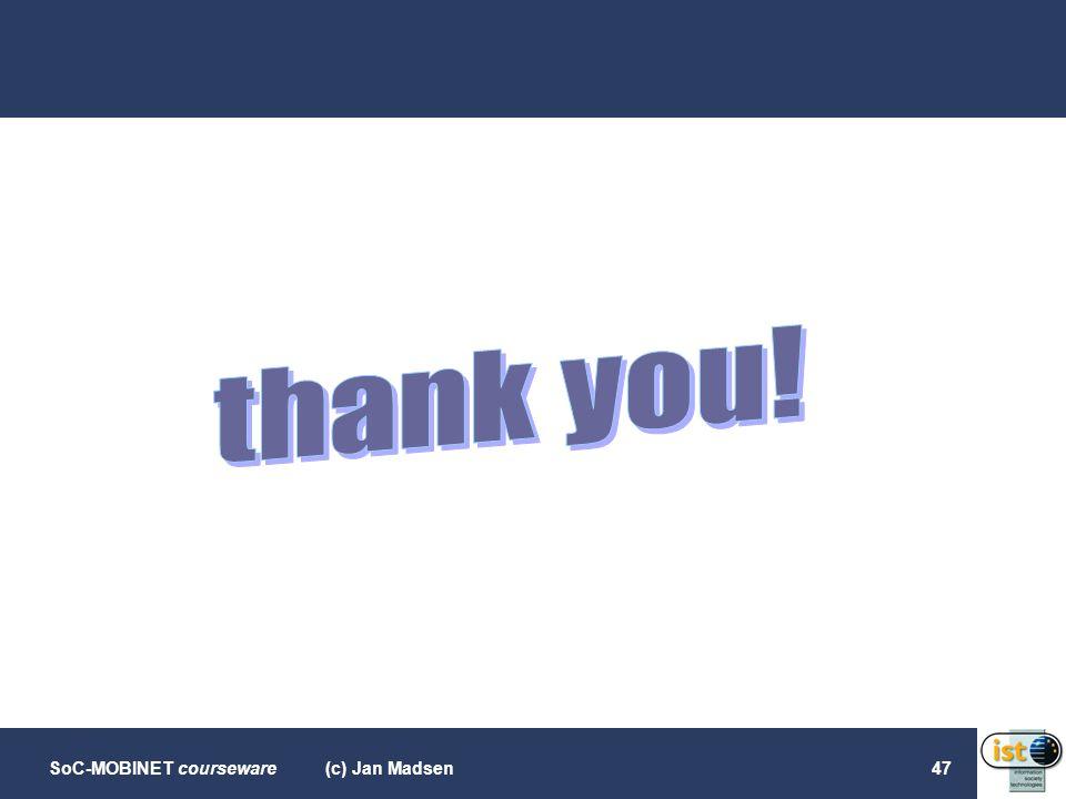 thank you! (c) Jan Madsen