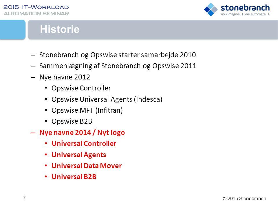 Historie Stonebranch og Opswise starter samarbejde 2010