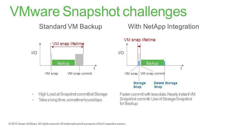 VMware Snapshot challenges