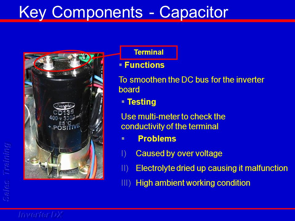 Key Components - Capacitor