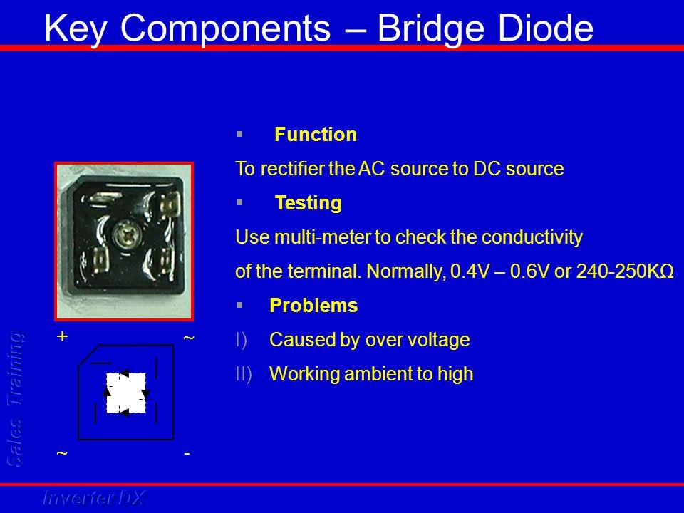 Key Components – Bridge Diode