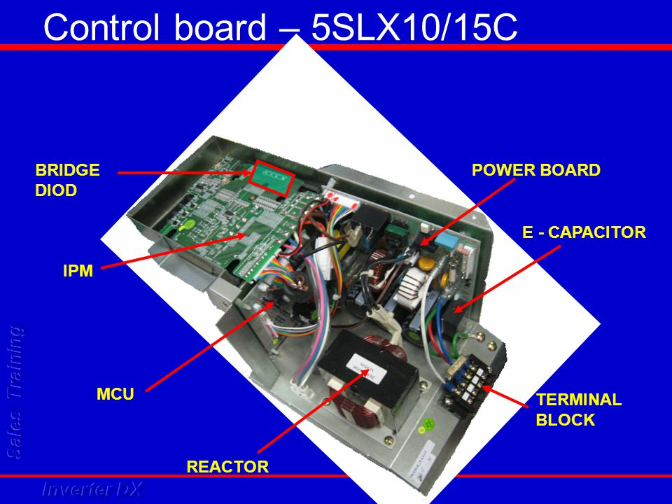 Control board – 5SLX10/15C BRIDGE DIOD POWER BOARD E - CAPACITOR IPM