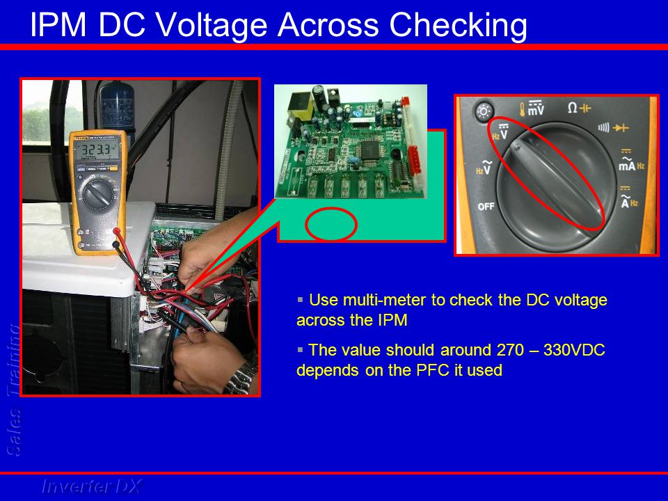 IPM DC Voltage Across Checking