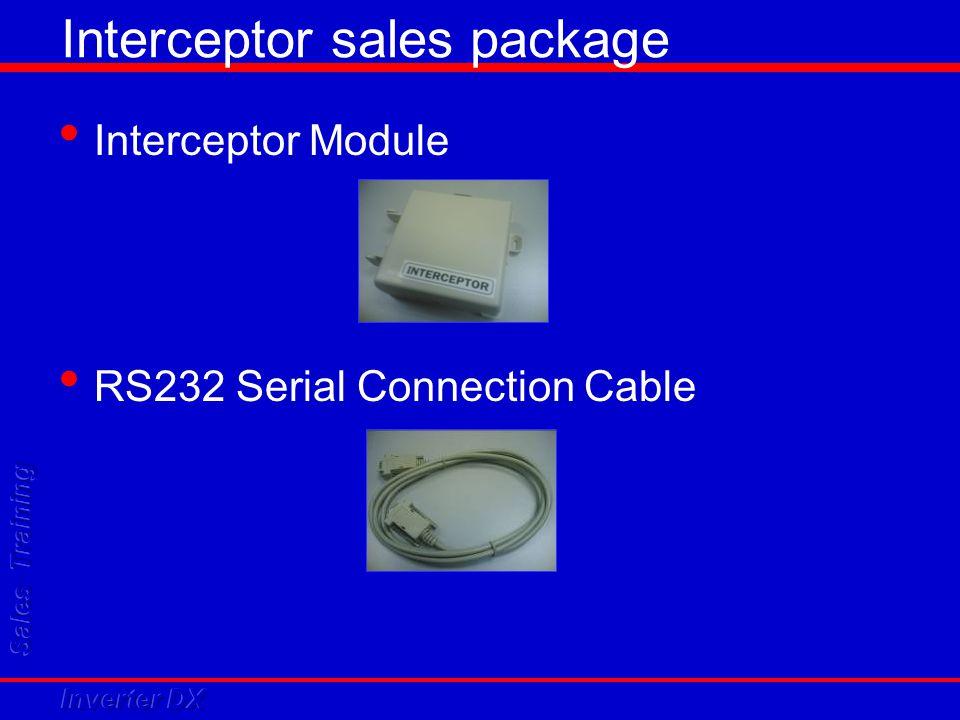 Interceptor sales package