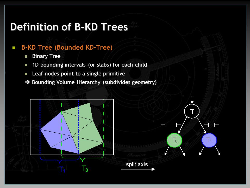 Definition of B-KD Trees