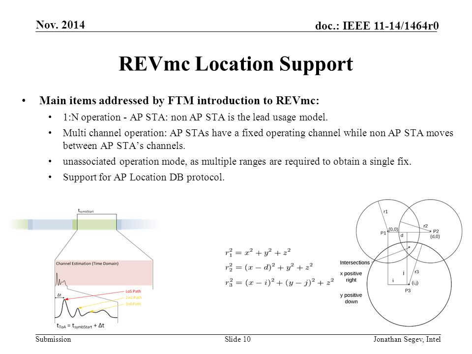 REVmc Location Support