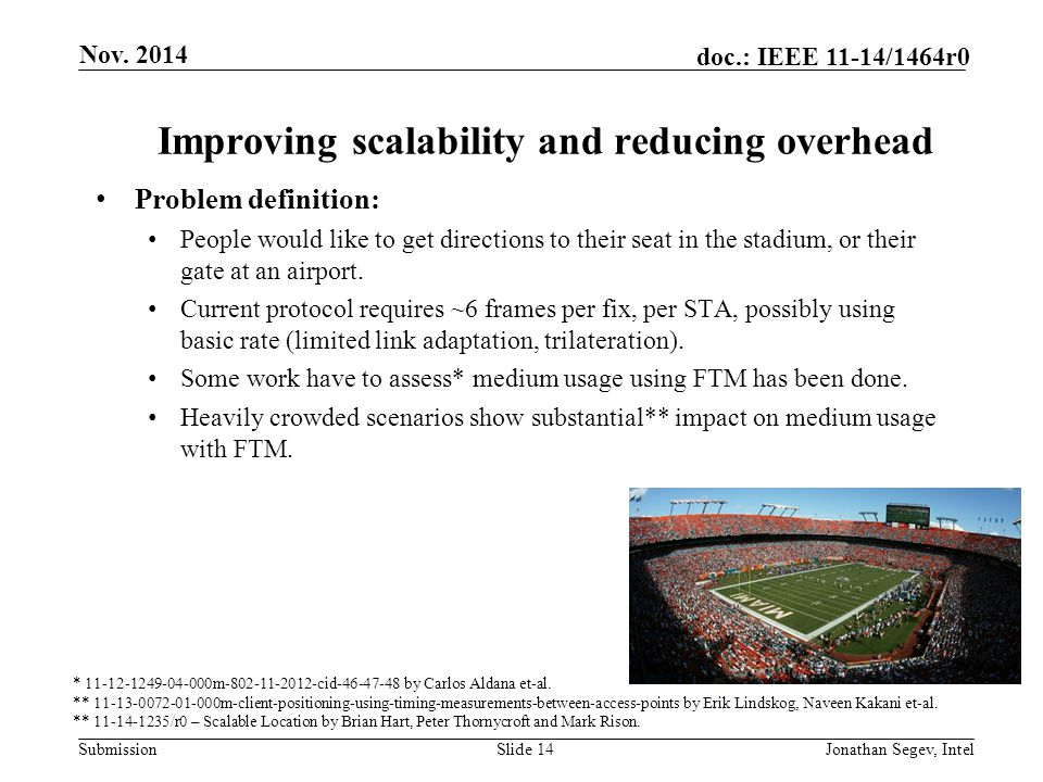 Improving scalability and reducing overhead