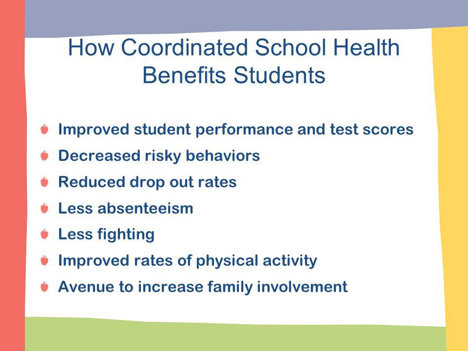 How Coordinated School Health Benefits Students