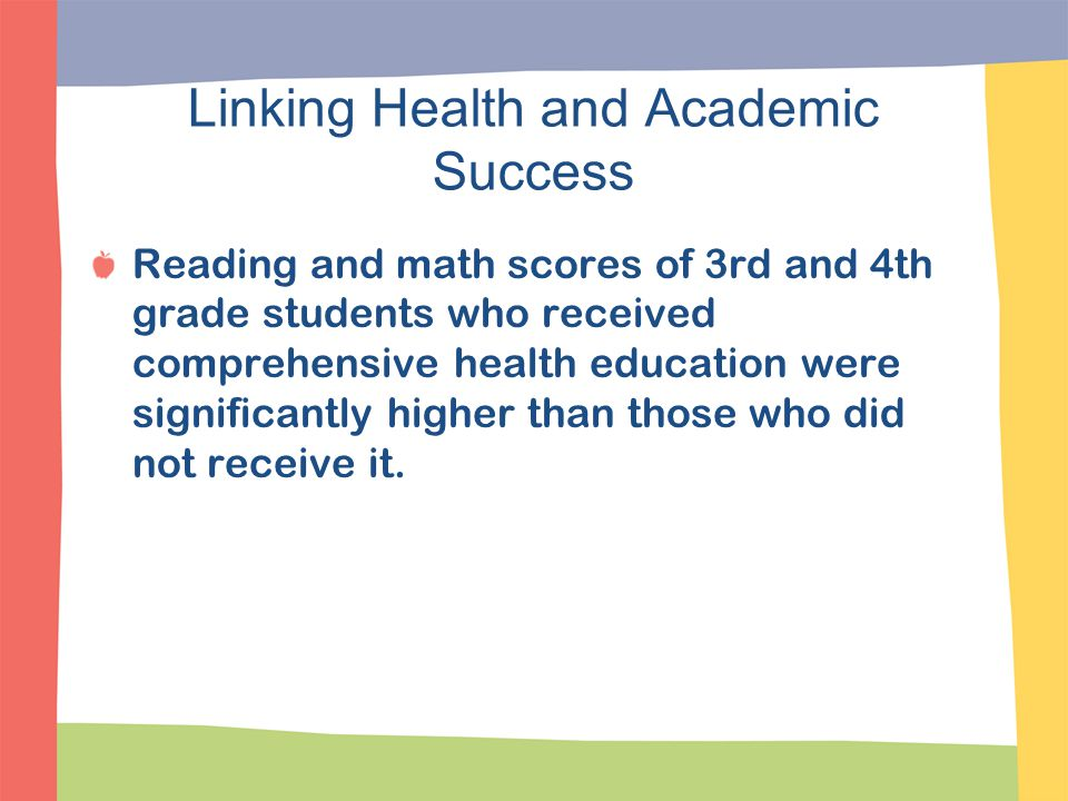 Linking Health and Academic Success