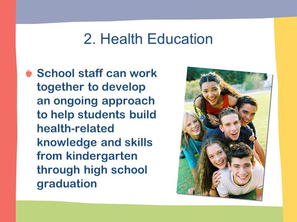 2. Health Education