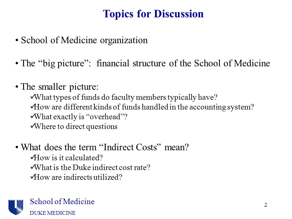 School of Medicine organization