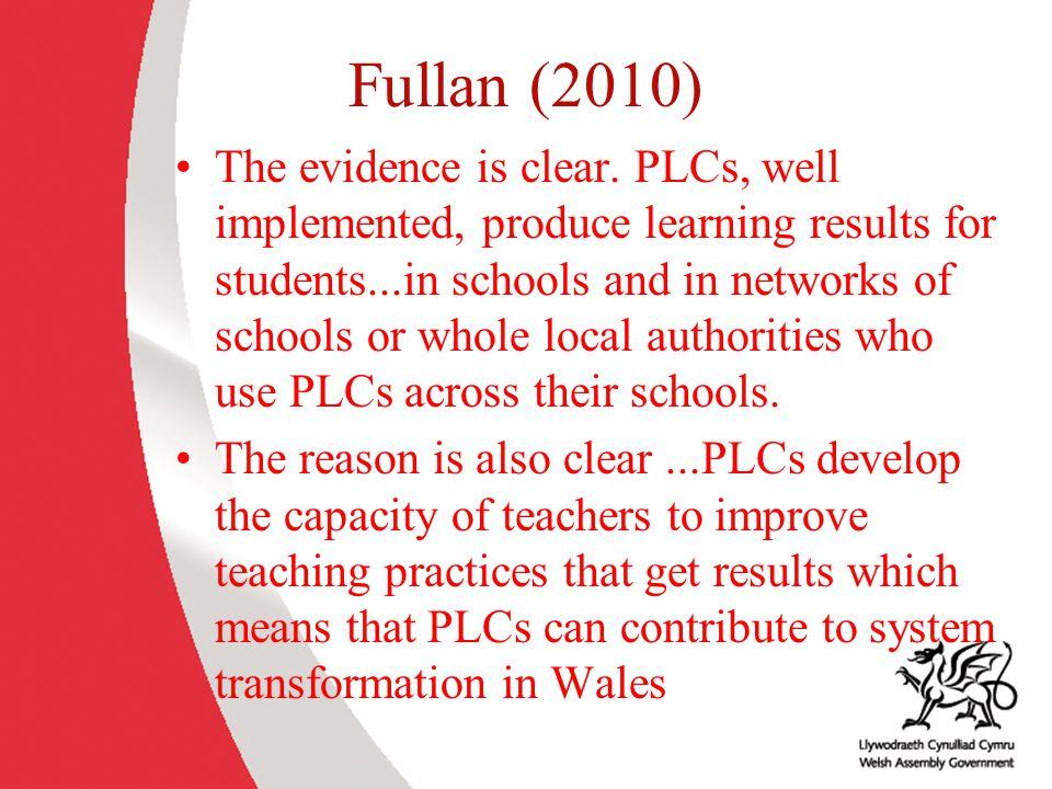 Fullan (2010)