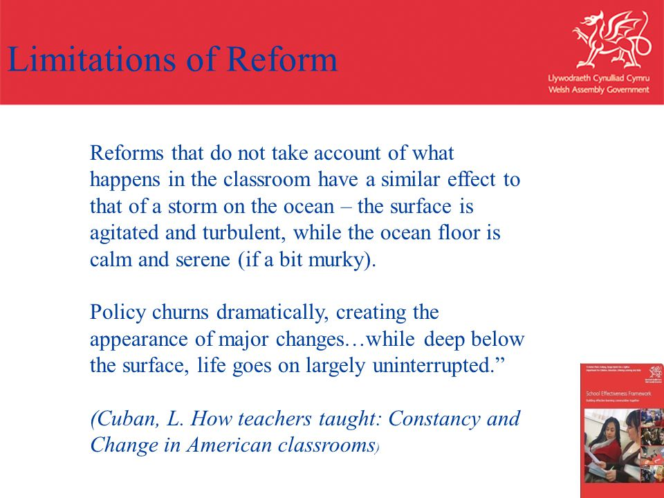 Limitations of Reform