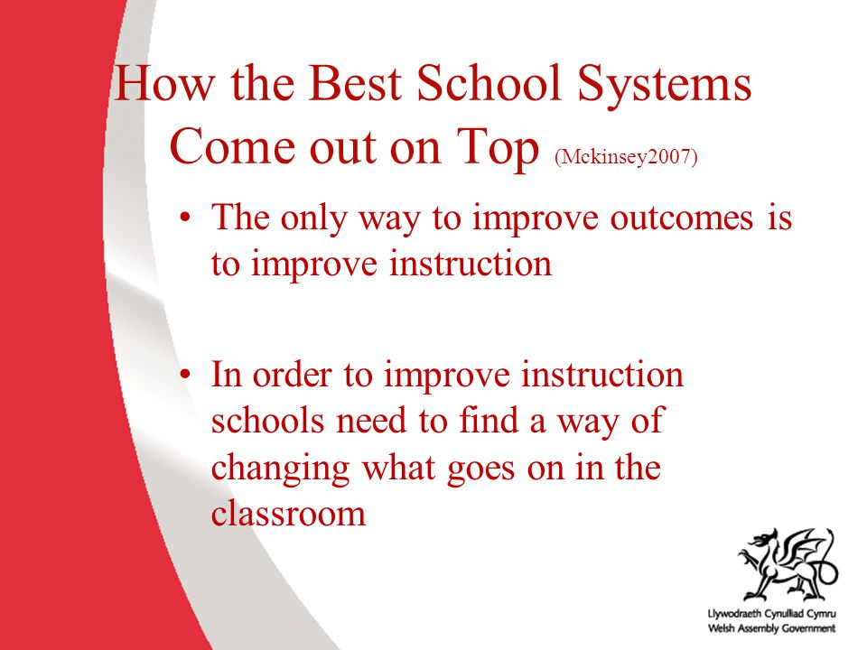How the Best School Systems Come out on Top (Mckinsey2007)